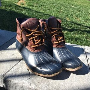 Sperry Topsider Duck Boots